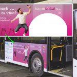 Buswerbung kommunikativ