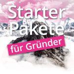 Für Start-ups + Gründer: Starter-Pakete
