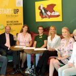 Gründerstipendium Kreis-Warendorf, Anja Samulewitsch von kommunikativ ist Coach für das Start-Up Unternehmen lemontree von Anne Schult