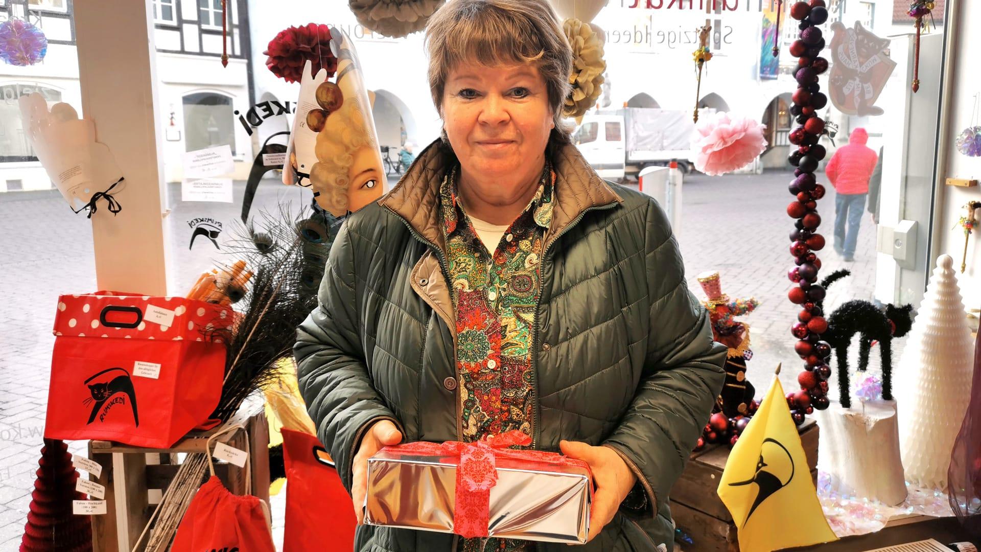 Gewinnerin unseres Weihnachtskarten-Gewinnspiels