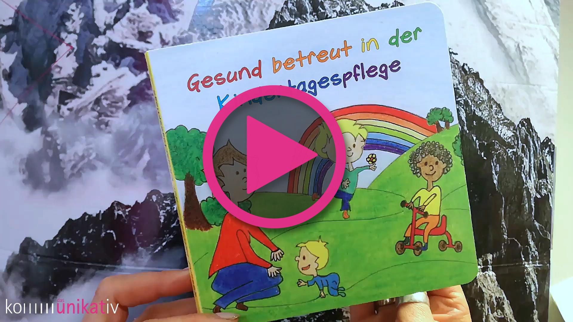 """Kartonbuch – """"Gesund betreut in der Kindertagespflege"""""""