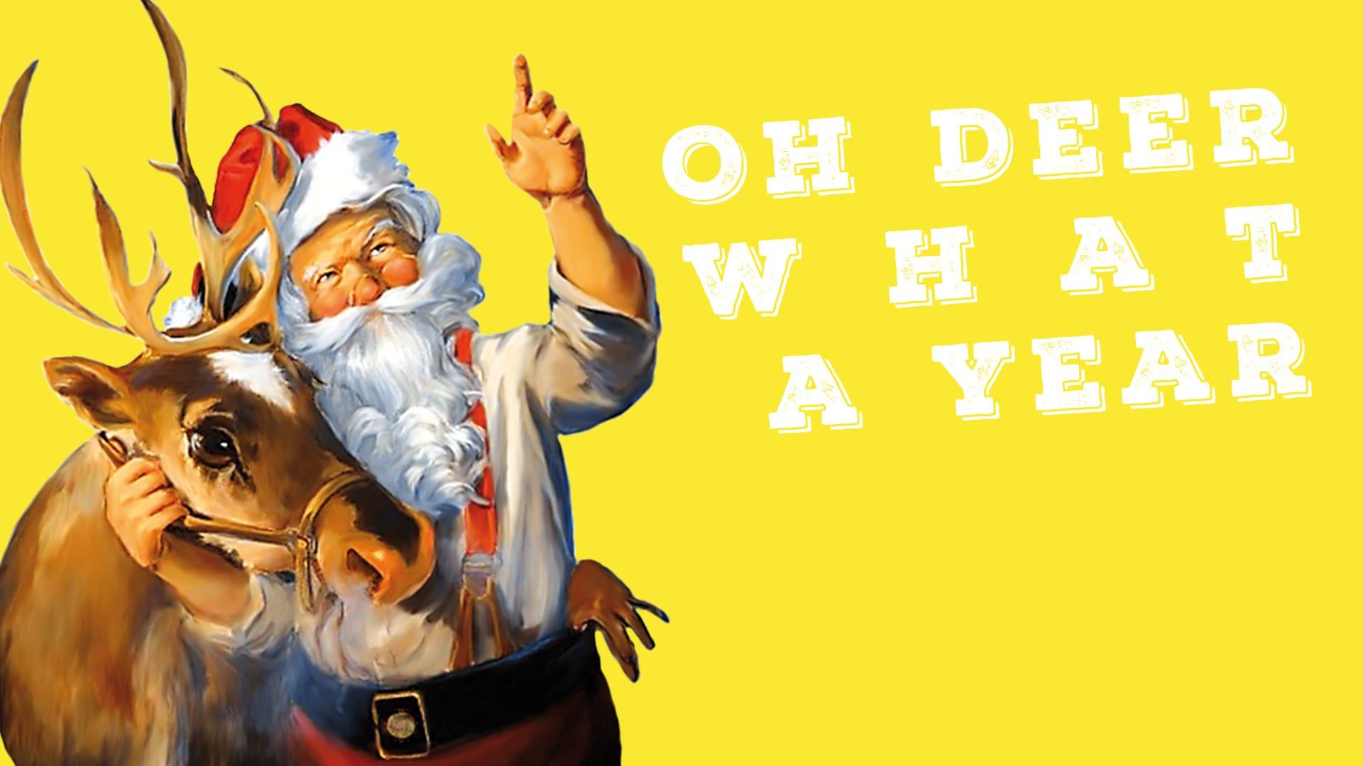 Oh deer what a year!Weihnachtsgrüße von kommunikativ